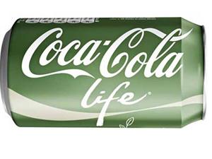 Yeşil kutulu Coca Cola geliyor