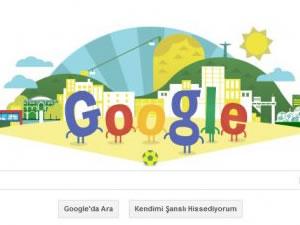 Google'den Dünya Kupası'na özel 'doodle'