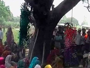 Tecavüz edip ağaca açtılar