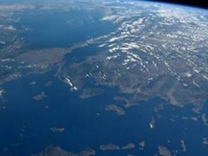 Amerikalı astronot uzaydan Türkiye'nin fotoğrafını çekti