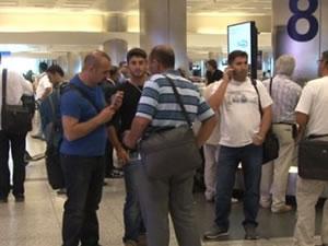 Irak'tan Türkiye'ye dönüşler başladı