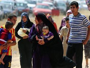 Musul ve Kerkük halkı IŞİD'den kaçmak için Erbil'e gidiyor