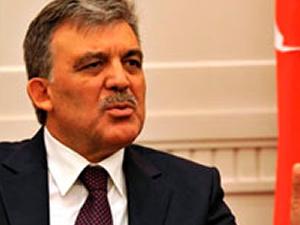 Abdullah Gül'e yasak geldi