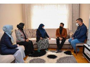 Başkan Yazıcı'dan 65 yaş üstü büyüklere ziyaret