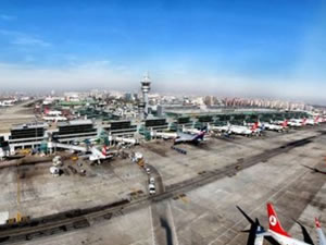 Atatürk Havalimanında rekor gün!