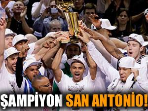 Şampiyon San Antonio!
