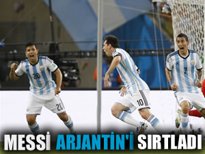 Arjantin zorda olsa kazanmasını bildi