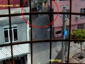 Adana'daki gösterilen MOBESE kayıtları yayınlandı!