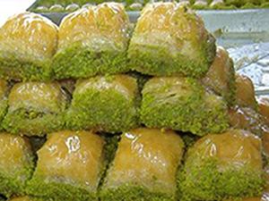 Merdivenaltı maydanozlu baklava