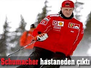 Schumacher hastaneden çıktı