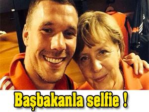 Başbakanla selfie