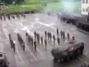 Zırhlı araç askeri ezdi!