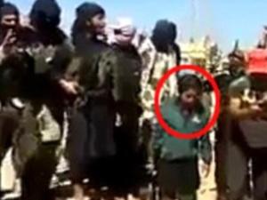 IŞİD'in infazına 8 yaşındaki çocuk şahit oldu
