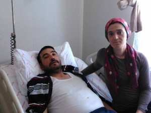 Böbreğinden 5 kilo tümör çıktı