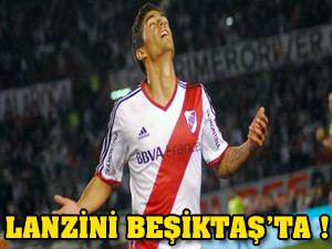 Lanzini Beşiktaş'ta