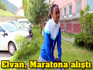 Elvan Abeylegesse maratona alıştı