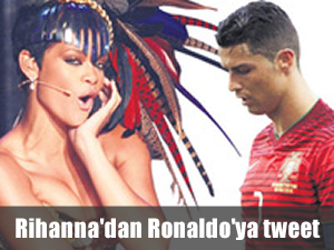 Rihanna'dan moral tweeti