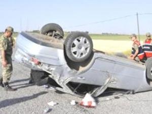 Uşak'ta trafik kazası oldu