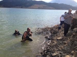 Kahramanmaraş'ta bir çocuk barajda boğuldu