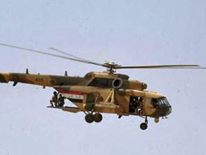 IŞİD Irak ordusuna ait helikopteri düşürdü