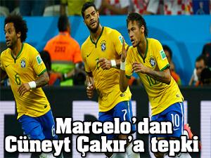 Marcelo'dan Cüneyt Çakır'a tepki