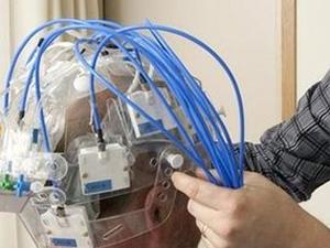 Beyin kanamasını tespit eden başlık