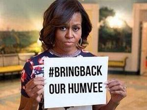 IŞİD Michelle Obama'yı dalgaya aldı!