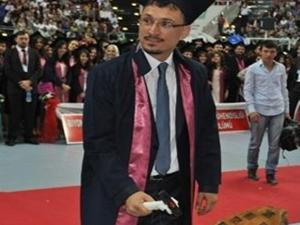 Böyle mezun ilk defa görüldü