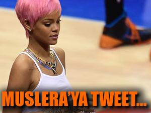 Rihanna'dan Muslera için tweet
