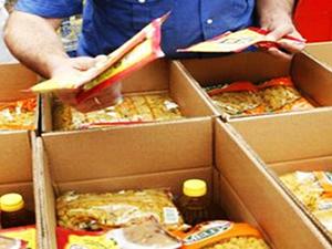 Ramazan Ayı erzak kolileri satılmaya başlandı