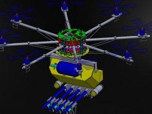 Karşınızda biber gazı sıkan insansız hava aracı: Skunk