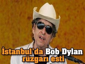 İstanbul'da Bob Dylan rüzgarı!