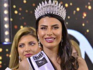 Miss Europe 2021'de üçüncü oldu
