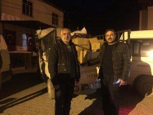 52 evin yandığı Dereiçi'nden aynı kaderi paylaşan köye yardım