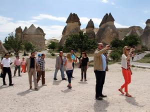 Yunanistan heyeti Kapadokya'da