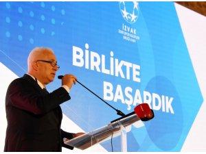 İZVAK'TA Ali Erten yeniden başkan