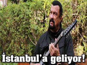 Steven Seagal İstanbul'a geliyor