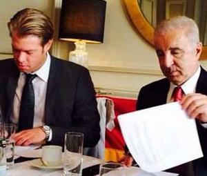 Galatasaray ile Wattenscheid takımları arasında anlaşma
