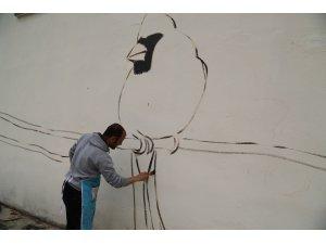 Şanlıurfa'da trafolar sanat eserine dönüşüyor