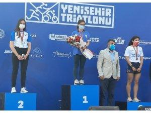 SAÜ'lü milli sporcudan Türkiye şampiyonluğu