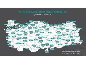 Bakan Koca açıkladı: Sinop'ta yoğun bakım doluluğu yüzde 80'i aştı