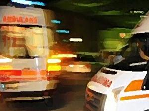 Denizli'de trafik kazası: 1 ölü 14 yaralı