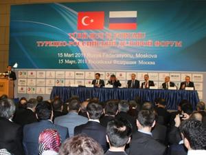 Türk-Rus İş Forumuna doğru
