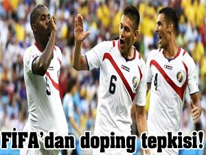 FİFA'dan doping tepkisi!