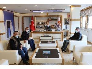 Yatırımcı iş adamlarından Havza Belediye Başkanı Özdemir'e ziyaret