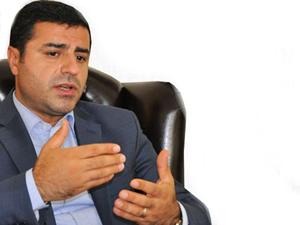 "Demirtaş: ""Çözüm sürecini siyasi rüşvete dönüştürdü"""