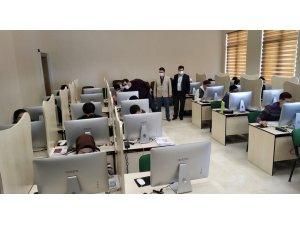 DPÜYÖS Sınavı ilk kez bilgisayar tabanlı olarak gerçekleştirildi