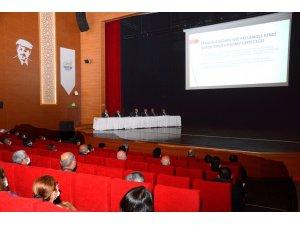 Belediye Başkanı Ekicioğlu, siyasi partilerin temsilcilerini bilgilendirdi