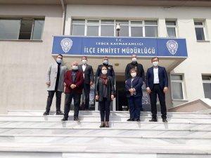 Erdek AK Parti'den ziyaretler serisi