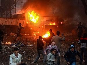 Kahire'de art arda patlama!